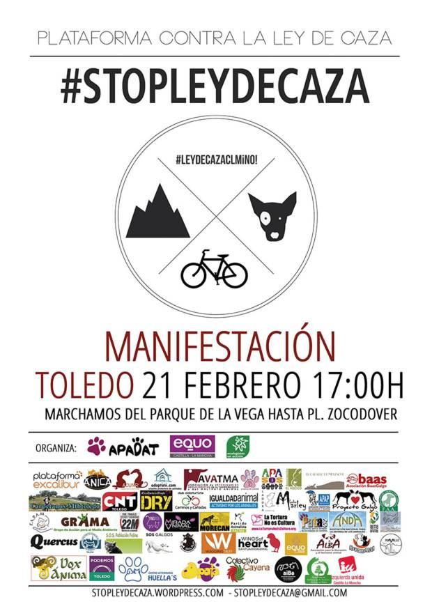 #StopLeydeCaza Castilla-La Mancha