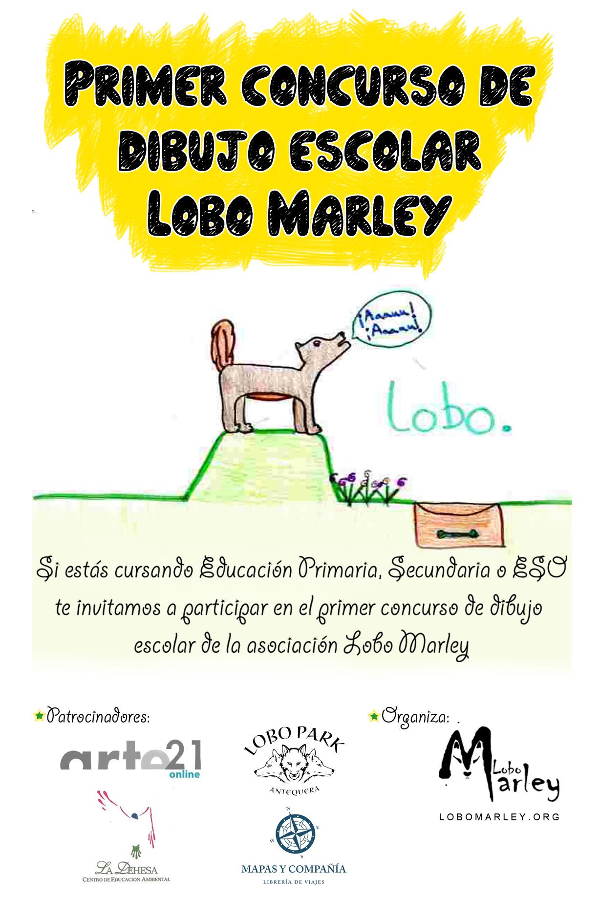 concurso dibujo escolar lobo marley