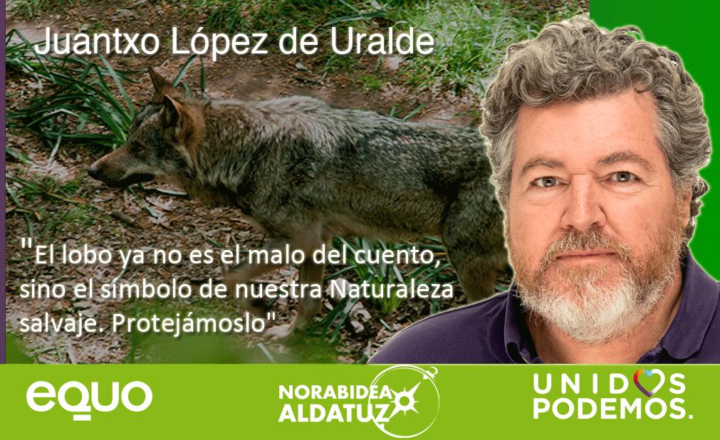 Unidos Podemos Equo Lobo Juantxo